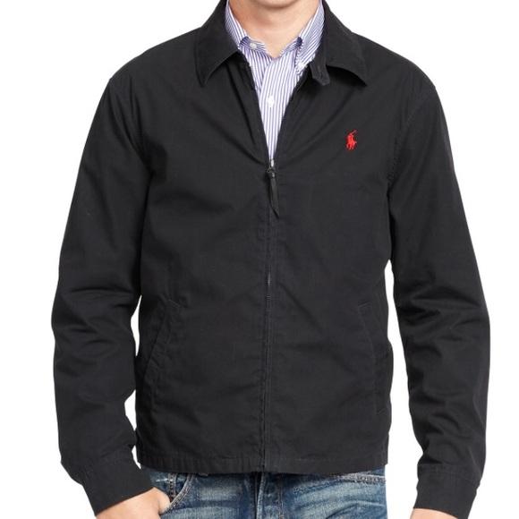 2708839e4 NWT Polo Ralph Lauren Poplin Windbreaker Jacket C9 NWT